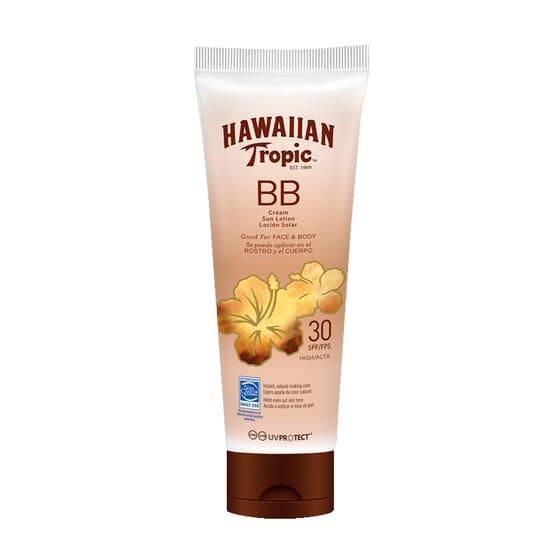 BB Cream Loção Solar SPF30 150 ml da Hawaiian Tropic