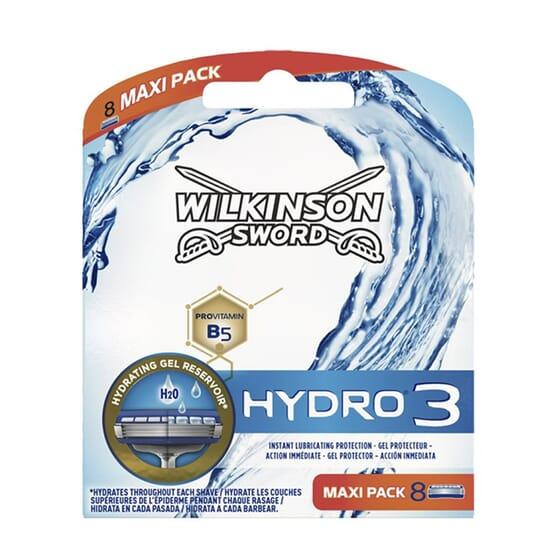 Wilkinson Sword hydro 3 8 Unds da Wilkinson