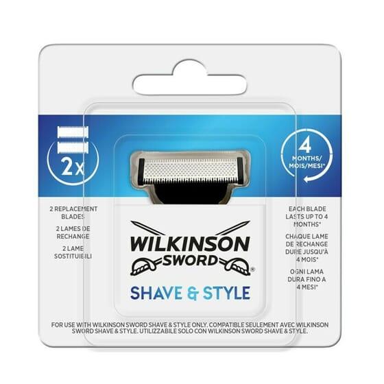 Wilkinson Sword Shave Style 2 Unds da Wilkinson