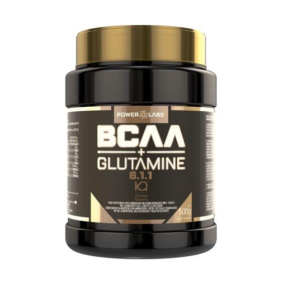Bcaa + Glutamine 500g da Power Labs