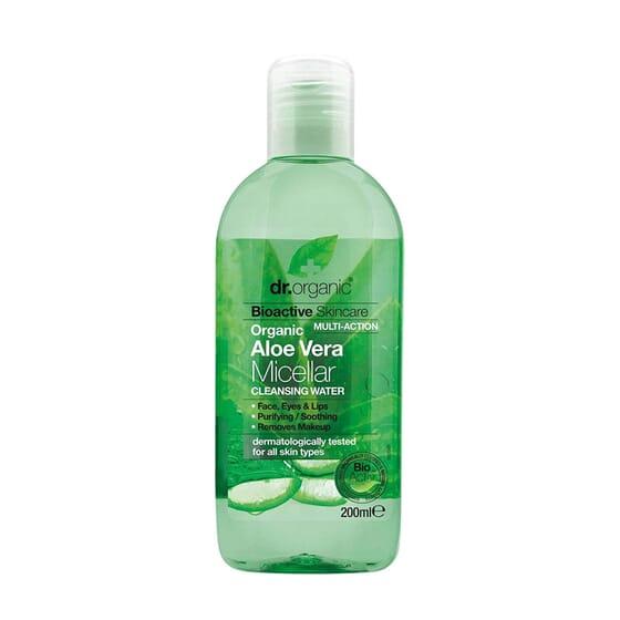 Água Micelar Aloe Vera Orgânica 100 ml da Dr Organic