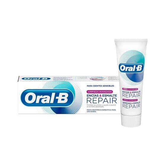 Oral-B Limpeza Avançada Gengivas Esmalte Repair 75 ml da Oral-B