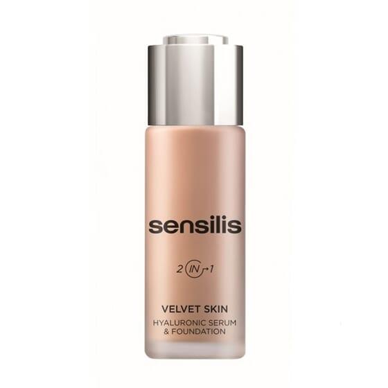 Velvet Skin Corretor Longa Duração 04 Noisette 30 ml da Sensilis