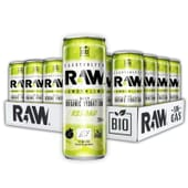 Raw Limão Lima Bio 24 x 250 ml da Raw Superdrink