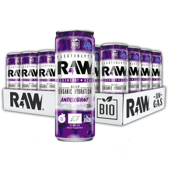 Raw Arándano Acai Bio 250 ml 24 Uds de Raw Superdrink