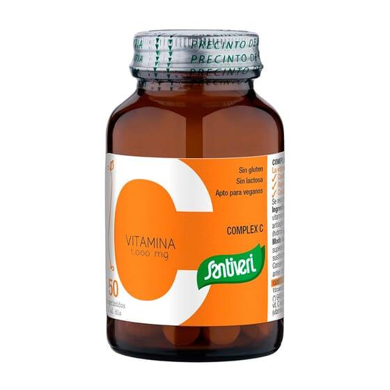 Vitamina C 1000 mg 50 Tabs da Santiveri