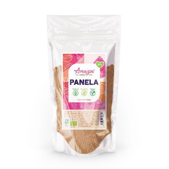 Açúcar Mascavado Bio 500g da Amazin' Foods
