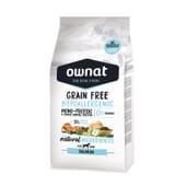 Grain Free Hypoallergenic Croquettes Chien Adulte Saumon 14 Kg de Ownat