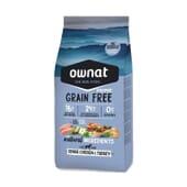 Prime Grain Free Croquettes Chien Senior Poulet Dinde 14 Kg de Ownat