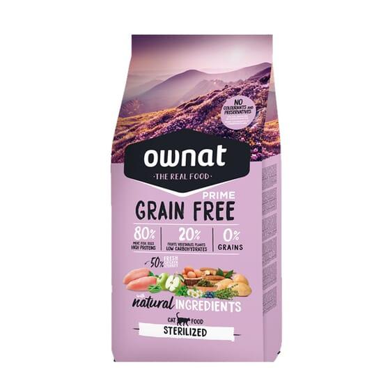 Prime Grain Free Pienso Gato Esterilizado 3 Kg de Ownat