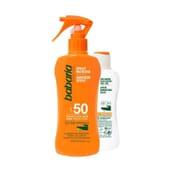 Spray Protetor Solar SPF50 + Bálsamo Aloe Grátis  da Babaria