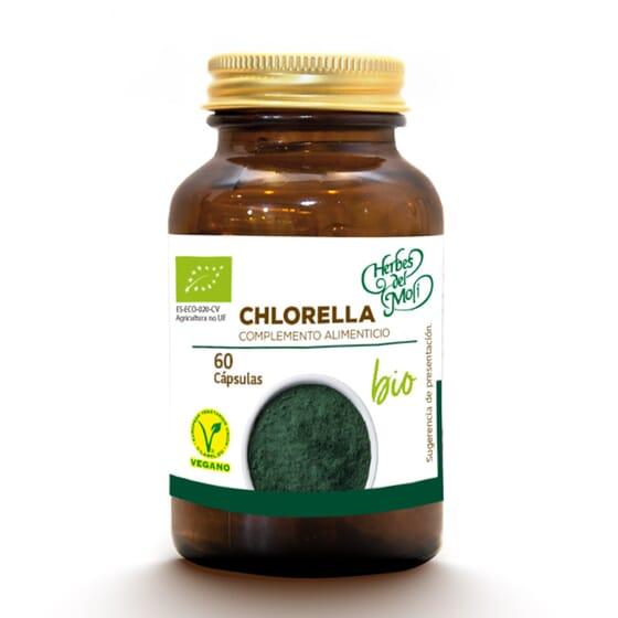 Chlorella Bio 60 Caps da Herbes del Moli