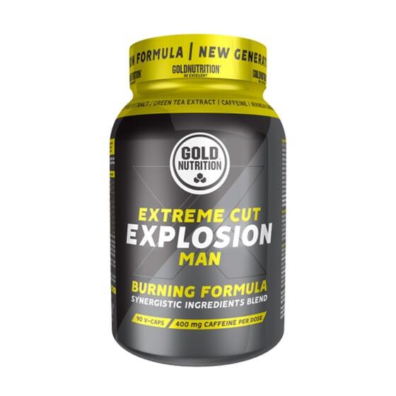 Extreme Cut Explosion Man 90 VCaps da Gold Nutrition