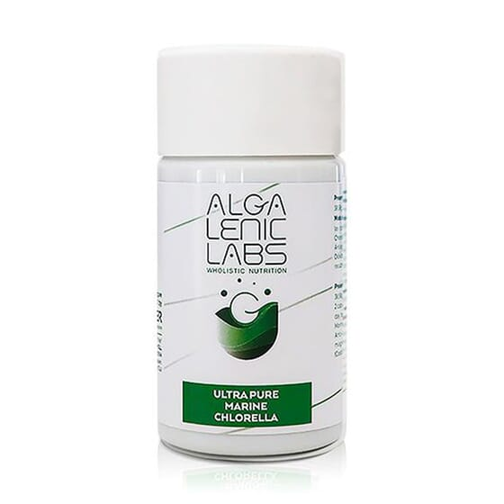 Ultra Pure Marine Chlorella 60 Caps de Algalenic Labs
