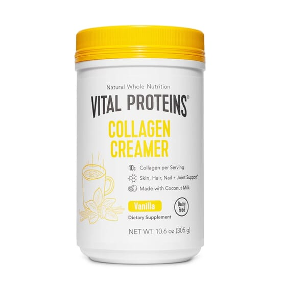 Collagen Creamer Baunilha 305g da Vital Proteins