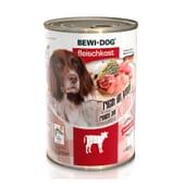 Comida Húmida Cão Adulto Vaca 400g da Bewi Dog