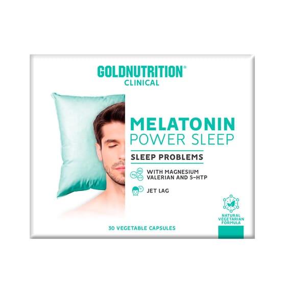 Melatonin Power Sleep 1,9 mg 30 VCaps de GoldNutrition Clinical