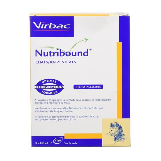 Nutribound Gatos 150 ml 3 Unds da Virbac