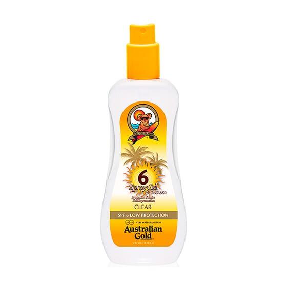 Sunscreen SPF6 Spray Gel 237 ml da Australian Gold