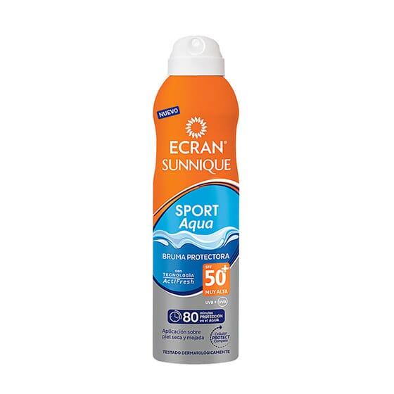 Sunnique Sport Aqua Bruma Protetora SPF50+ 250 ml da Ecran