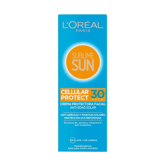 Sublime Sun Facial Cellular Protect SPF30 75 ml da L'Oreal Make Up