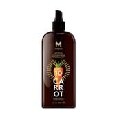 Carrot Suntan Oil Dark TanninG SPF10 200 ml da Mediterraneo Sun