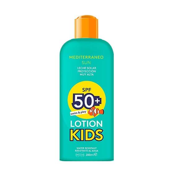Kids Lotion Swim Play SPF50 200 ml da Mediterraneo Sun