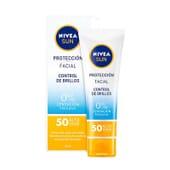 Sun Facial Controlo De Brilho SPF50 50 ml da Nivea
