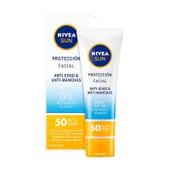 Sun Facial Antimanchas Anti-idade SPF50 50 ml da Nivea