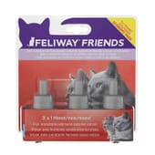 Feliway Friends Pack Ahorro 48 ml 3 Uds de Ceva