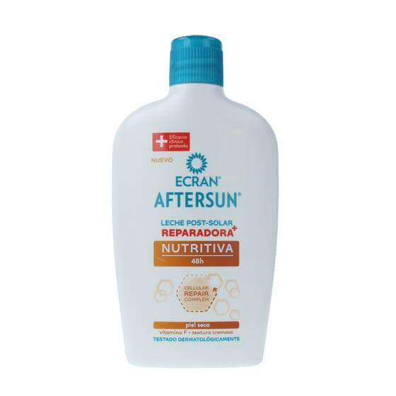 Aftersun Leite Nutritivo Reparador 48H 400 ml da Ecran