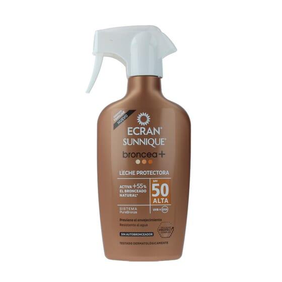 Sun Lemonoil Broncea+ Leite Protetor SPF50 300 ml da Ecran