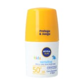 Sun Crianças Protege Sensitive Roll On SPF50+ 50 ml da Nivea
