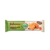 Deliciosas Galletas De Trigo Chocolate Negro Y Semillas 140g de Biocop