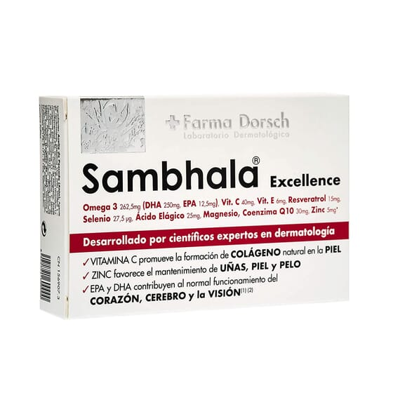 Sambhala Excellence 30 Caps da Farma Dorsch