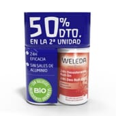Duplo Desodorante 24H Granada 2 x 50 ml de Weleda