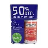 Duo Déodorant 24h Grenade 2 x 50 ml de Weleda