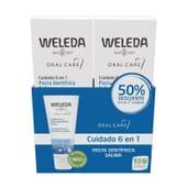 Duplo Pasta Dentífrica Salina 2 x 75 mg da Weleda