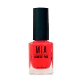 Esmalte De Uñas Juicy Strawberry 11 ml de Mia Cosmetics