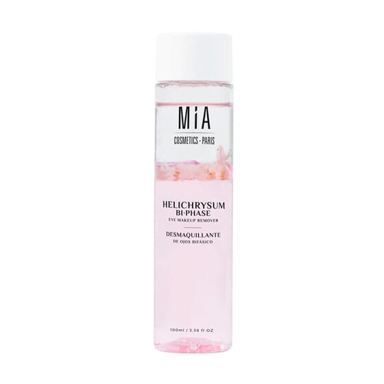 Desmaquilhante De Olhos Bifásico Helichrysum 100 ml da Mia Cosmetics