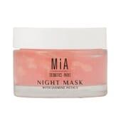 Mascarilla De Noche Con Pétalos De Jazmín 50 ml de Mia Cosmetics