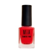 Esmalte De Uñas Poppy Red 11 ml de Mia Cosmetics