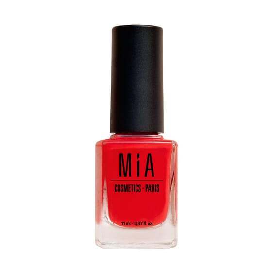 Verniz de Unhas Poppy Red da Mia Cosmetics