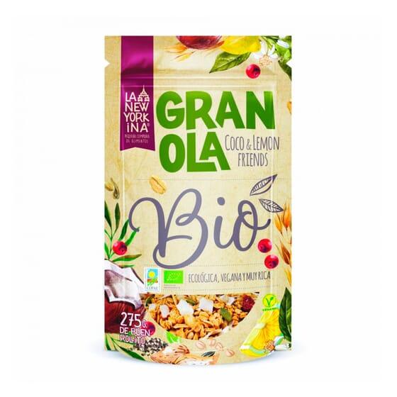Granola Coco e Limão Bio 275g da Newyorkina