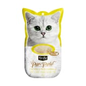 Snack Purr Purees Pollo Y Fibra Hairball 4 Uds de Kit Cat