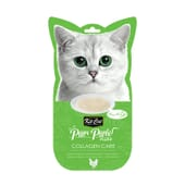 Snack Purr Puree Plus Frango Collagen Care 4 Unds da Kit Cat