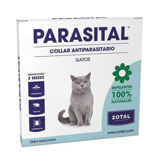Parasital Coleira Repelente Gatos da Zotal