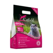 Catfield Areia Bentonite Litter Talco 6 Kg da Catfield