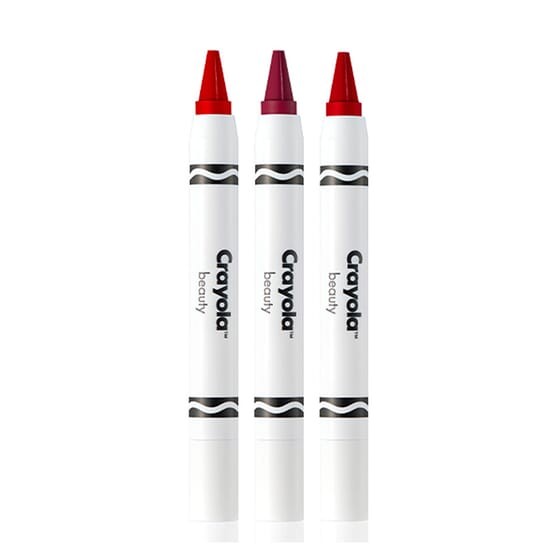 Crayola Crayon Trio Romantic Red 3 Uds de Crayola Beauty