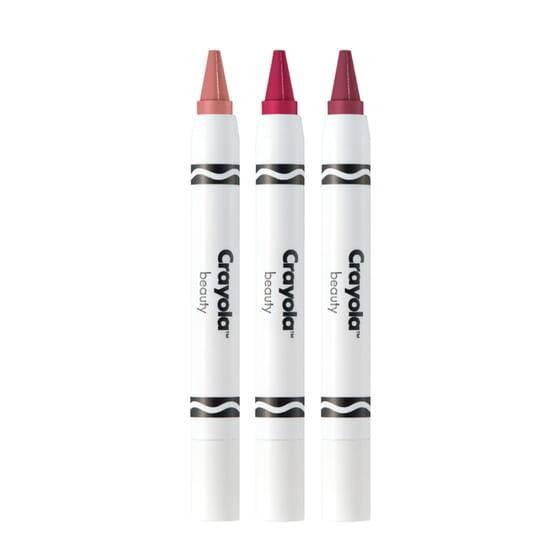 Crayola Crayon Trio Pink Blossoms 3 Unités de Crayola Beauty